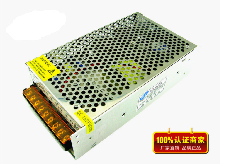 PWM AC /DC power 24V 10A 240W Switching Monitor Power Supply Switch Driver LED Power Supply Industrial use AC 100 - 240VPWM AC /DC power 24V 10A 240W Switching Monitor Power Supply Switch Driver LED Power Supply Industrial use AC 100 - 240V