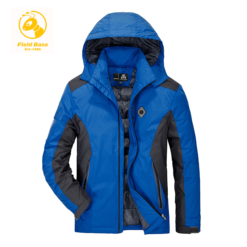 Field Base 2017 Men Padded Parka Cotton Coat Winter Jacket Mens Fashion Winter Coat Thick Parkas Military Outwear Jackets Coats 2016 new long winter jacket men cotton padded jackets mens winter coat men plus size xxxl