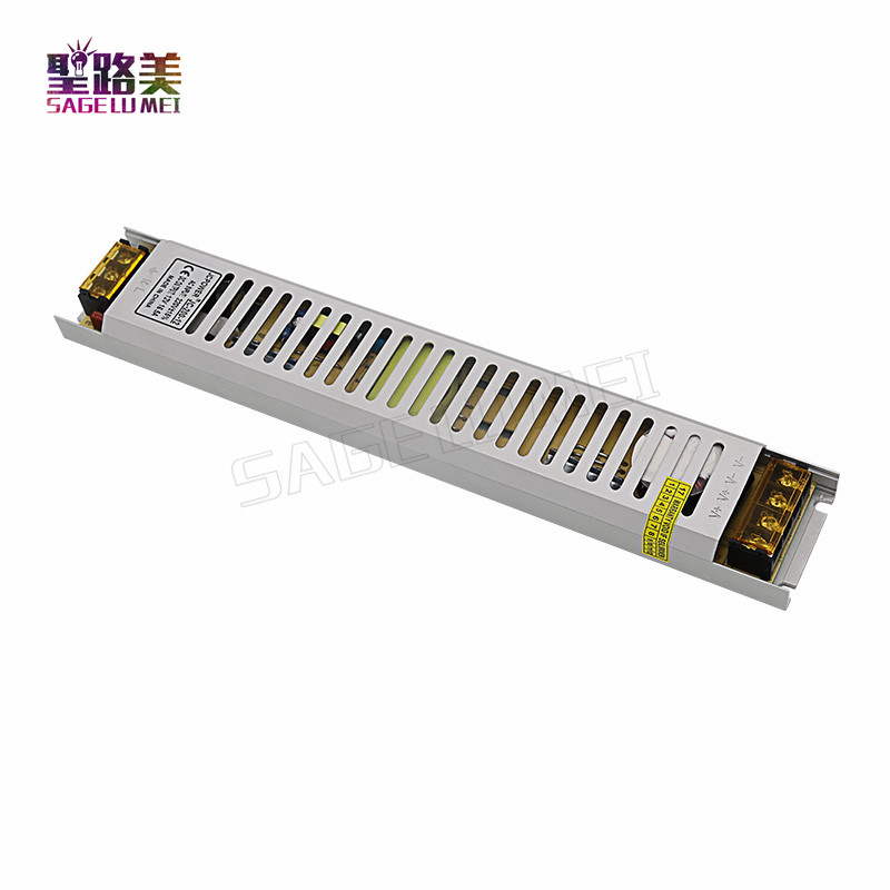 Ultra thin AC220V Input TO 12V Switching Power Supply 200W 250W 300W Lighting Transformer LED Driver Adapter for LED Lighting led driver transformer waterproof switching power supply adapter ac170 260v to dc48v 200w waterproof outdoor ip67 led strip