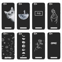 Soft Silicone For ZTE Blade A610 Case Cover Painting For ZTE BA610 V6 Max Pattern Matte Phone Cases Flower Dog Cat Funda(China)