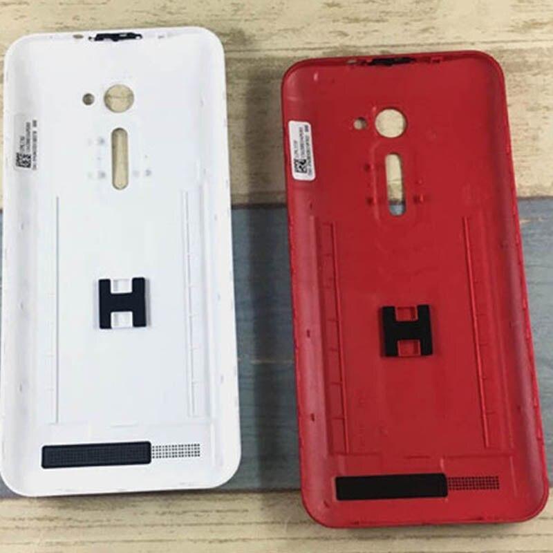 Noir/Blanc/Rouge Pour Asus ZenFone 2 ZE500CL Z00D retour Batterie cas de couverture de logement batterie couverture de porte avec livraison Gratuite