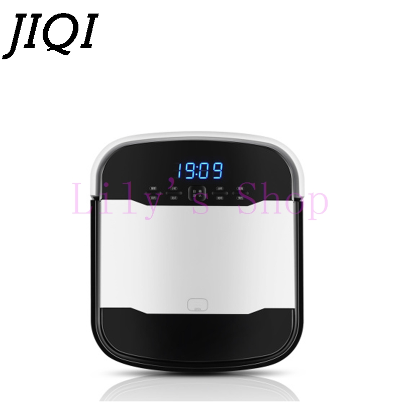 JIQI wireless mopping sweeper automatic chargeable suction cleaning Mop machine electric sweeping robot vacuum cleaner aspirator swdk wipe mopping machine sweep floor robot home fully automatic wireless intelligent electric mop vacuum cleaner free shipping