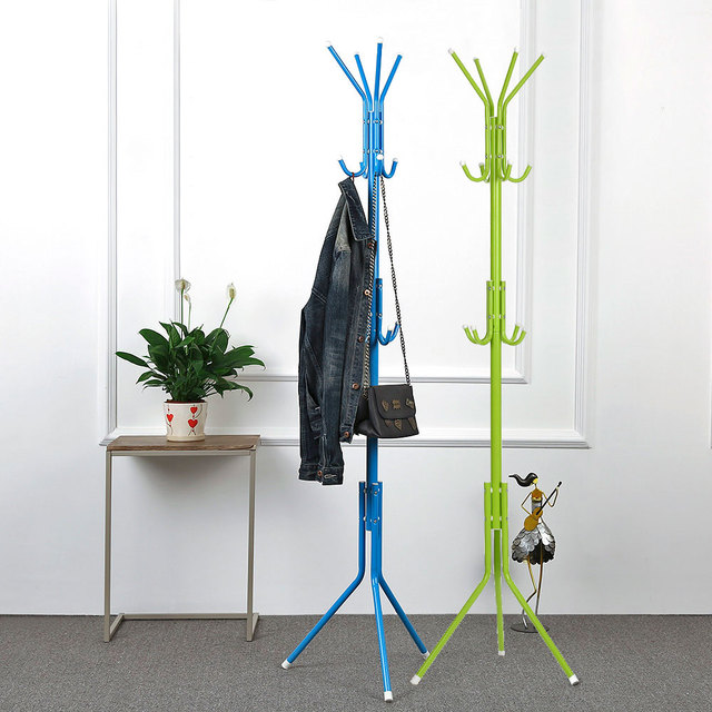office coat hanger. IKayaa US UK FR Stock 2 Layer 8 Hooks Metal Frame Coat Hat Rack Stand Hanger Office E