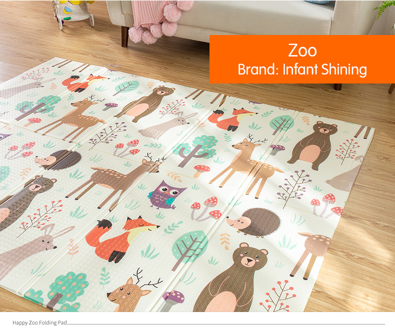 HTB1sMGPcECF3KVjSZJnq6znHFXaJ Infant Shining Baby Play Mat Xpe Puzzle Children's Mat Thickened Tapete Infantil Baby Room Crawling Pad Folding Mat Baby Carpet