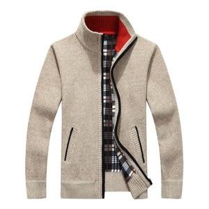 Men's New Fashion Brand Warm Zipper Card