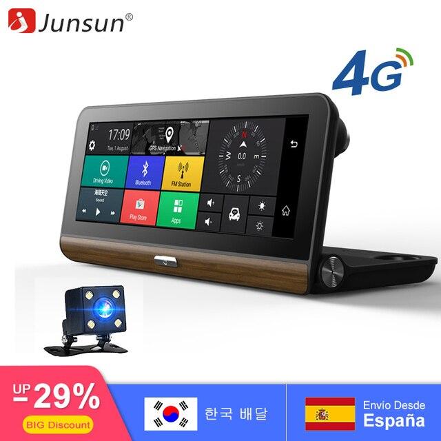 """Junsun E31 Pro 4 г автомобиля Камера GPS 7.8 """"Android 5.1 Автомобильные видеорегистраторы WI-FI видео Регистраторы регистратор видеорегистратор видеорегистратор парковка мониторинга"""