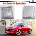 El Envío Gratuito! Cubierta del coche UV Anti Auto Lluvia Nieve Cubierta A Prueba de Polvo Protección Resistente Al Sol Para Opel Adam