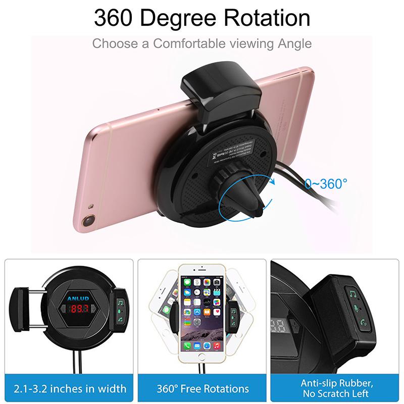 car phone holder fm transmitter (4)
