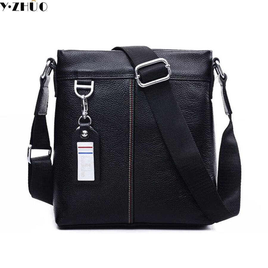genuine leather men messenger bags really cowhide business man bag men crossbody bags briefcase men shoulder Laptop bags man messenger bags 2015 leather messenger bags