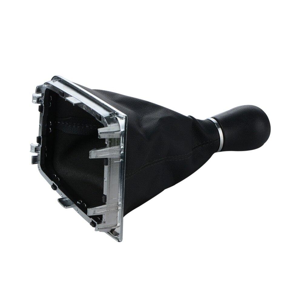 Able For Mk6 / Jetta Mk5 Iv 5 Speed Gear Shift Knob Lever Stick Head Handball Collar Boot Cover Case