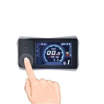 500C Mini Color Display For Bafang Mid Crank Motor Conversion Kit BBS01 BBS02 BBSHD eBike Speedometer Controller plantronics зарядка