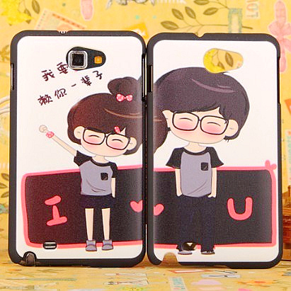 Cartoon small for samsung i9220 phone case note i9228 protective case shell
