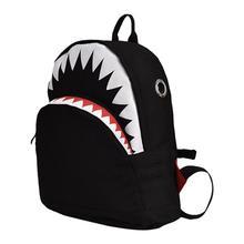 2019 Kids 3D Cartoon Shark Schoolbags Child School Bag for Kindergarten Bagpack Child Canvas Backpack Gift Mochila Infantil