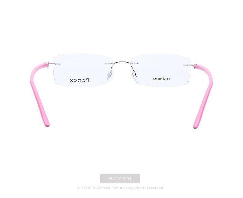New-Fashion-Titanium-Myopia-Rimless-Glasses-Memory-Eyeglasses-Optical-Frame-TR90-Eyewear-Women-Brand-Designer-8201-FONEX_11