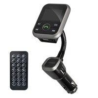 Bluetooth V4.0 громкой связи car kit MP3-плееры Беспроводной fm-передатчик Радио адаптер USB Зарядное устройство + ЖК-дисплей Дистанционное управление с ...