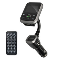 V4.0 Bluetooth ערכה דיבורית לרכב נגן MP3 אלחוטי משדר FM רדיו מתאם מטען USB + שלט רחוק LCD עם הקמעונאי תיבת