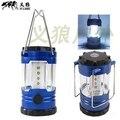 1 PC Solar portátil Ultra brilhante lanterna Camping Bivouac caminhadas Camping luz 30 lâmpada