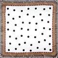 100% Silk Scarf Women Scarf Dots Neckerchief Scarf Silk Bandana 2017 Hot Animal Foulard Small Square Silk Scarf Gift for Lady