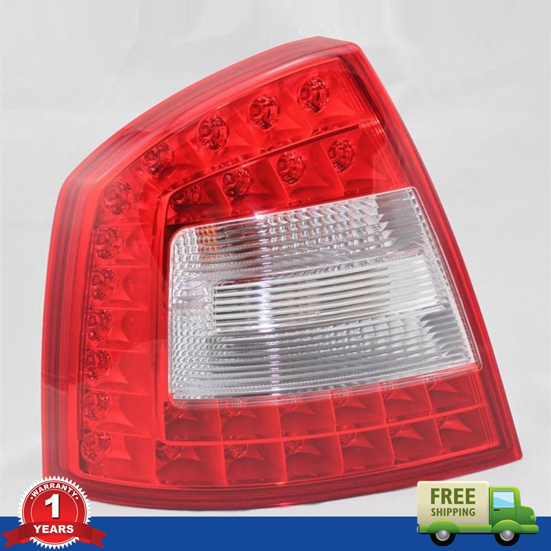 Free Shipping For SKODA Octavia A6 RS 2009 2010 2011 2012 2013 New OEM Original LED Car Rear Lights Tail Light Left Side free shipping for skoda octavia sedan a5 2005 2006 2007 2008 left side rear lamp tail light