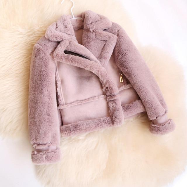 Fleece mantel madchen