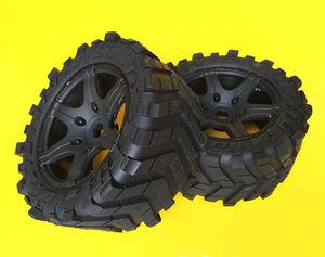 Image 3 - Wheels Waterproof wear resistant Tire RC Monster truck for TRAXXAS X MAXX X MAXX