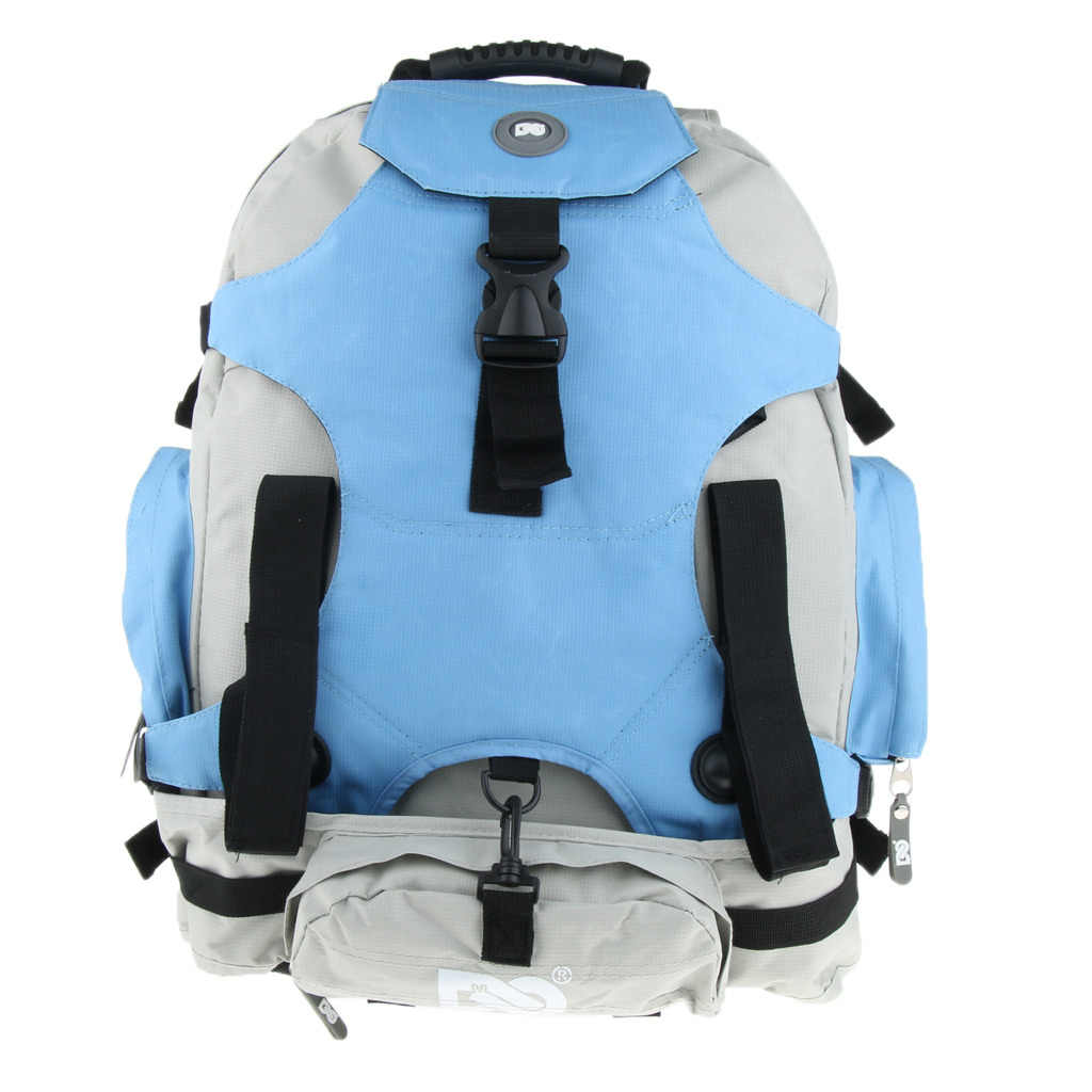 Double Shoulder Backpack Skatepack Quad Roller Skate Bag Shoulder Backpack With Portable Handle Strap for Men Women Skating Bag