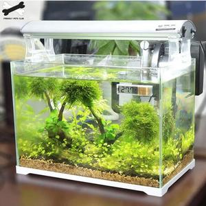 Image 4 - Aquarium thermometer Digital LCD electronic fish tank 3D Digital temperature gauge sticker shrimp fish turtle G3615