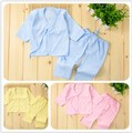 Cotton Newborn Clothes Set 0-3 Month Spring Summer Baby Boys Girls Newborn Clothing Sets 2 Sets/Lot TZ45