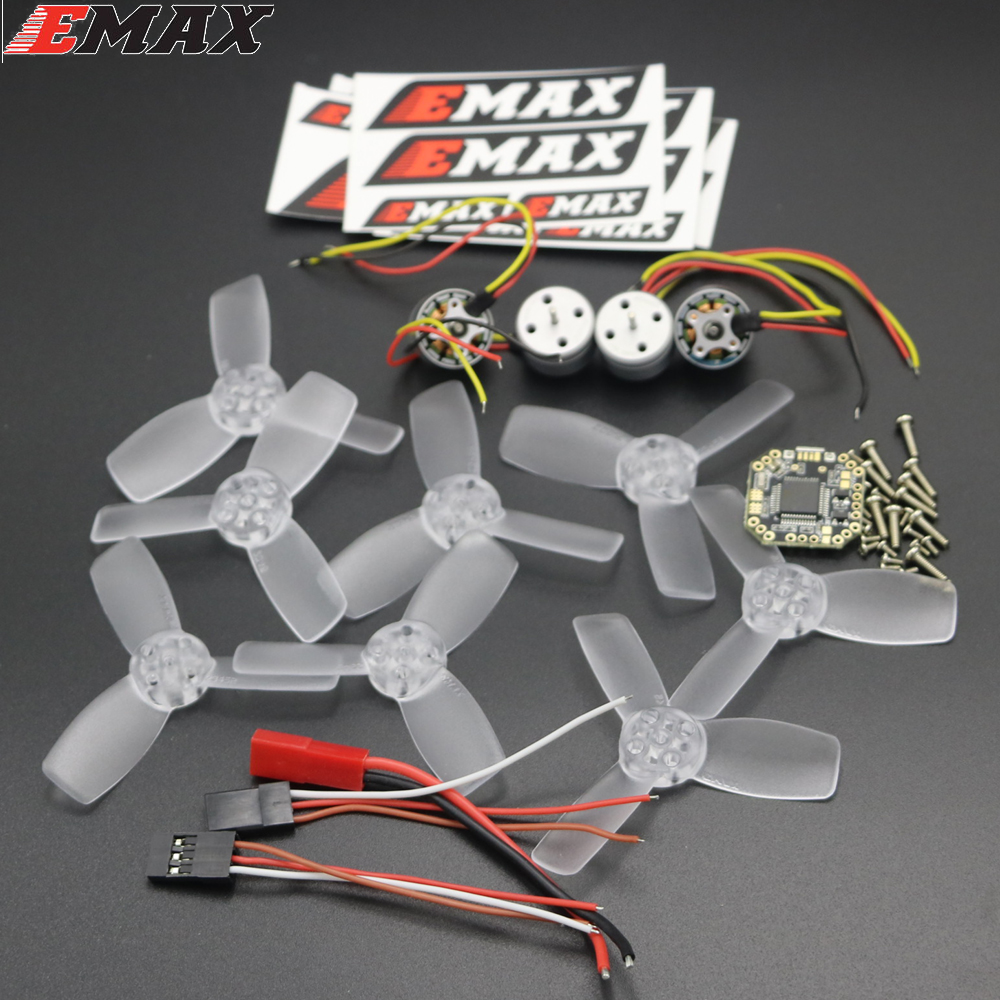 Original EMAX F3 Femto 6A Bullet BLHeli_S ESC RS1104 5250KV Motor T2345 Propeller Power System Combo For RC Model original emax 4pcs rs1104 5250kv