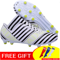 football shoes for men high cleats soccer With Socks Professional Football Boot FOOTBALL WITH ANKLE BOOTS
