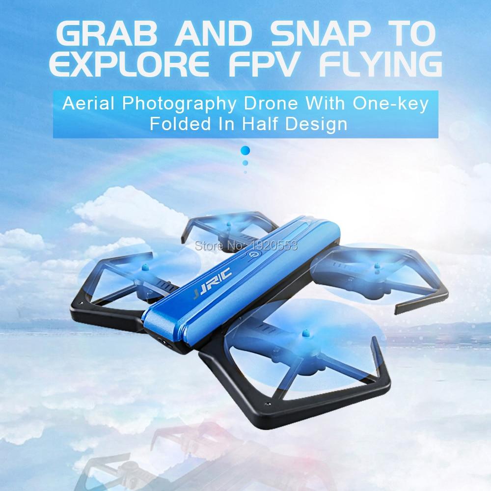 JJR/C H43WH kraba WIFI FPV kamera HD 720 P Dron samowyzwalacz Quadcopter składany czujnik G mini RC dron do selfie Quad w Helikoptery RC od Zabawki i hobby na AliExpress - 11.11_Double 11Singles' Day 1