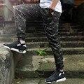 Mens joggers basculador pantalones de camuflaje militar pantalones streetwear hombres pantalones de chándal corredores de hip hop streetwear pantalones cargo camo