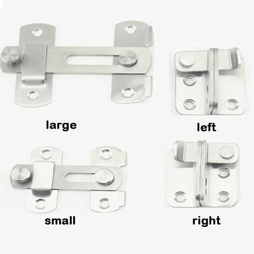 Door Security Guard Latch Bolt Home Cabinet Safety Gate Lock Hardware /& Screws