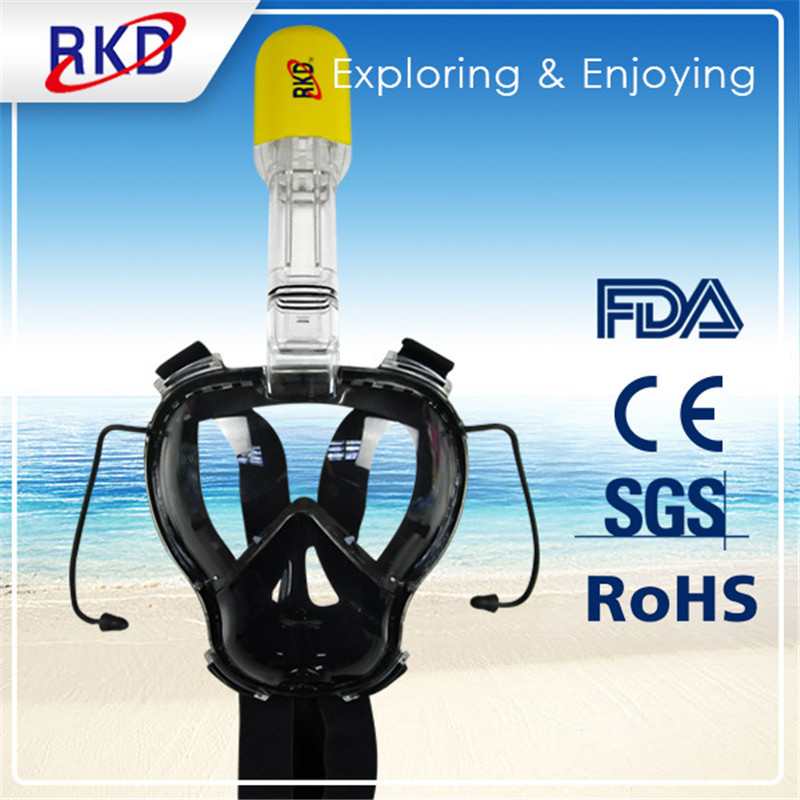2017 Kids RKD Diving Mask Scuba Mask Underwater Anti Fog Full Face Snorkeling Mask Swimming Snorkel Diving Equipment 12pcs aaa to aa size cell battery converter adapter batteries holder case switcher for aaa to aa battery gdeals
