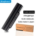 KingSener Japanese Cell FPCBP331 Battery for Fujitsu LifeBook A532 AH512 AH532 AH532/GFX FPCBP331 FMVNBP213 FPCBP347AP 4400mAh
