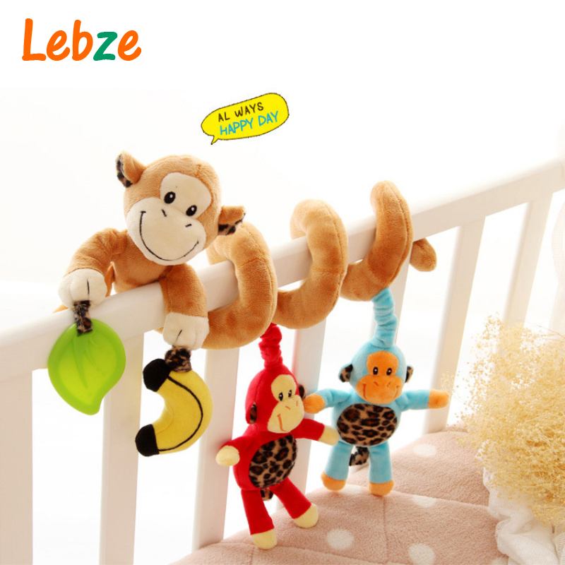 Educational Baby Toy Mobile Baby Cot Bed Hanging Bell Newborn Infant Stroller Crib musical Rattles/Mobile Toys for Kids