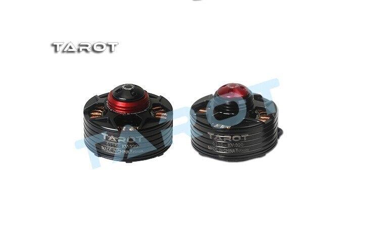 TAROT 6115 320KV Self-locking CW CCW thread Brushless Motor BLACK Red cover TL4X003 TL4X005 F14619/F14620