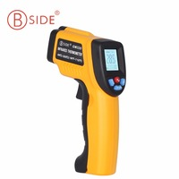 Official BSIDE GM320 Non Contact Laser LCD Display IR Infrared Digital C F Selection Temperature Thermometer