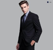The Men's Business Suits Spring Youth Wedding Suit Slim Men Wedding Suits Pure Color The Groomsman/groom Suit