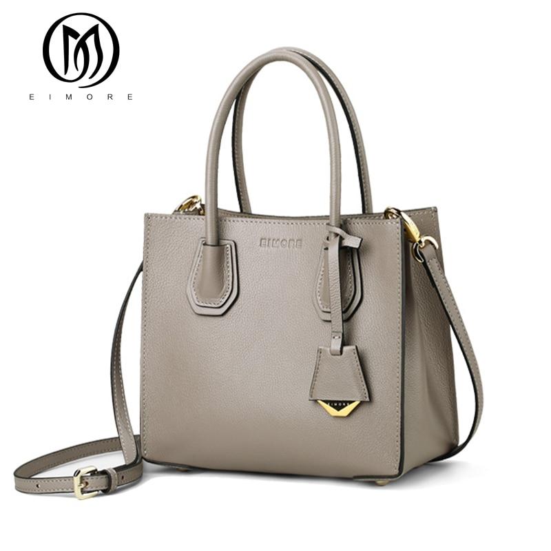EIMORE Designer Women Bag Genuine Leather Women s Shoulder Bags Handbags Female Luxury Simple Sheep Texture