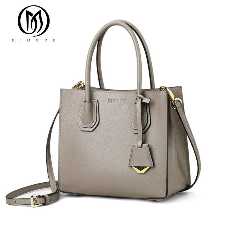 EIMORE Designer Women Bag Genuine Leather Women's Shoulder Bags Handbags Female Luxury Simple Sheep Texture Soft Bag Sac