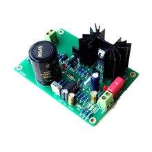 Kaolanhon הכפול אופ Amp TL072 STUDER900 מגבר מוסדר אספקת חשמל לוח סיים לוח ערכת עם חום פיזור DC 5V  24V