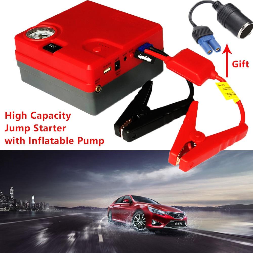 Voiture saut démarreur 12 V voiture démarreur batterie d'urgence briquet Diesel essence démarrage dispositif Booster Buster batterie externe chargeur de voiture