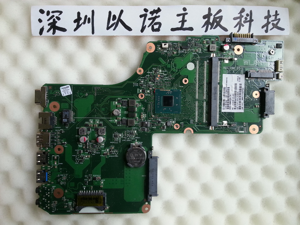 V000325170 for original Toshiba Satellite C55 C55T Series Motherboard 6050A2623101-MB-A02 SR1SG CPU full tested stock No.383