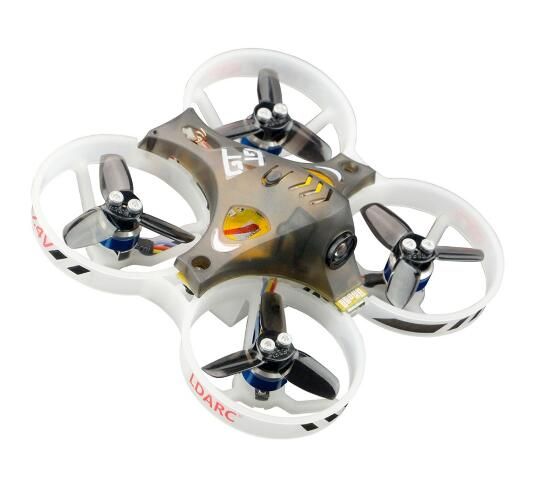 LDARC minuscule GT7 75mm/GT8 87.6mm Mini FPV RC Drone de course Betaflight F3 10A Blheli_S 800TVL Cam 5.8G 25mW VTX 2S PNP BNF