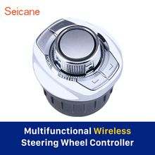 Seicane ABS Material High-sensitive Universal Car Controller Steering Wheel Control For Car Stereo Radio GPS Navigation Cup Slot
