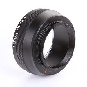 Image 2 - FOTGA עדשת מתאם טבעת עבור Pentax K/PK הר לסוני E הר NEX3 C3 NEX5 NEX6