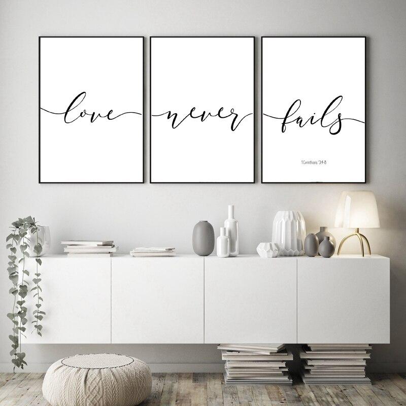 Verses Canvas Art Prints Home Wall Decor