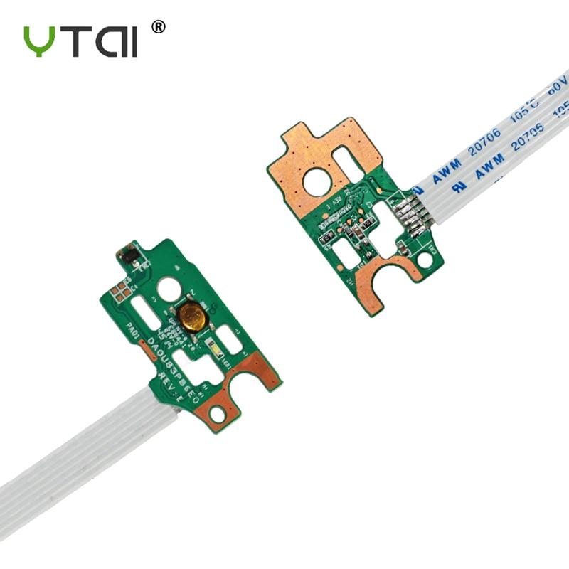 New Power Button Switch Flex Cable Board For HP Pavilion 15-N 14-N 15-F DA0U83PB6E0 732076-001