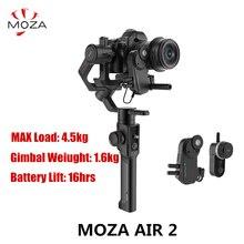 MOZA Air 2 3 оси Стабилизатор Ручной карданный Беспроводной фоллоу-фокус нагрузка 4,2 кг для SONY A73 камер Canon BlackMagic BMPCC